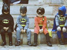 "The ""Super Hero"" waiting area...."
