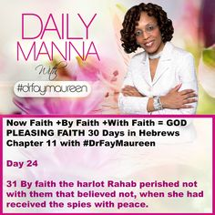DM#238 30 Days in Hebrews Chapter 11 with Day 24
