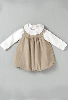 Pichi Beige-Vestidos bebé-KuiniCollection