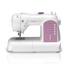 Take your sewing to the next level with this computerized sewing machine. This intricate machine features 30 push-button stitch patterns for versatility and beauty in your projects. It also offers a convenient six-segment feeding system. $170.00 Overstock.Com