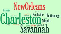 favorite southern cities