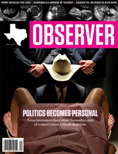 Cover of The Texas Observer.