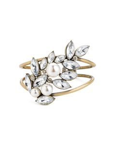 JewelMint, Pearl Essence Bangle, $29.99.  December 2012 Collection