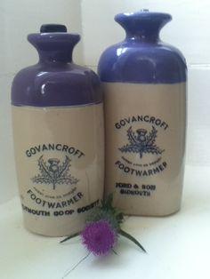 1930s Govencroft hot water bottles