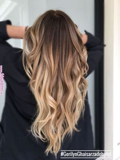 Balayage and hair styles hair hair looks, new hair color. Ombre Hair Color, Hair Color Balayage, Blonde Balayage, Balayage Long Hair, Bayalage, Hair Colour, Beautiful Hair Color, Pinterest Hair, Dark Hair