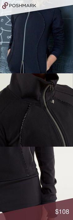 Lululemon Nice Asana SE Ruffle Jacket THE ONLY JACKET YOU WILL EVER NEED.  Flawless! ✨ lululemon athletica Jackets & Coats