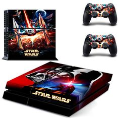 Star wars the force awakens design skin for ps4 decal sticker console & controllers - Decal Design