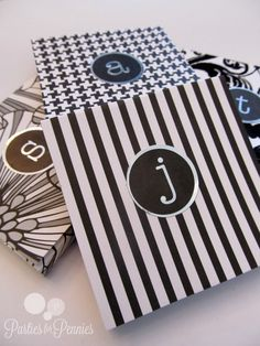 Personalized Post it Notes DIY Gift by @Mari Penton-Oliver for Pennies