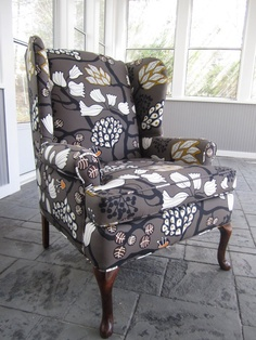 Exceptionnel Chair Affair Accent Chair Mystic Forest By Urbanmotifs On Etsy, $475.00