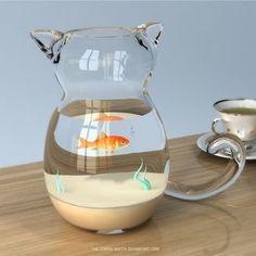 Pet Fish Tank Freshwater Aquarium 58 New Ideas Diy Aquarium, Aquarium Ideas, Aquarium Decorations, Planted Aquarium, Crazy Cat Lady, Crazy Cats, I Love Cats, Cool Cats, Pet Fish