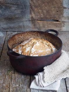 Eltefritt brød med byggryn og solsikkekjerner - Mat På Bordet Piece Of Bread, Freshly Baked, Bread Baking, Cornbread, Pork, Food And Drink, Lunch, Breakfast, Ethnic Recipes