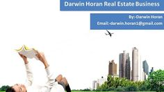 "Like any business, Darwin Horan real estate agents need to know Marketing to expand the number of customers and deals. Promoting is a stage that Real Estate merchants frequently disregard in their preparation. Many trusts that in the Real Estate business, the market is practically insured! Be that as it may, this isn't the position to take if you are a real estate broker and need to make your business the best in your group. Darwin Horan trusts the ""mark name"" Marketing that th..."