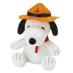 Peanuts by Schulz 7 Inch Beagle Scout Snoopy Plush
