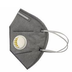 20Pcs Heal Force HF-K5-2 PM2.5 Disposable Respirator Mask Folding Protective Valved Masks