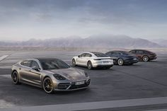 The 2017 Porsche Panamera Receives Some New Flavors