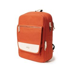[WILLICOT] BRIX LAPTOP BACKPACK (ORANGE) at GVG URBAN STORE