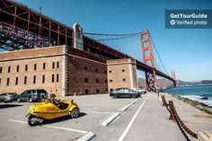 Explore the parks and beaches of San Francisco in a GPS-guided, talking GoCar during this 3-hour tour. Pass through famous Golden Gate Park. Drive through Fisherman's Wharf. See China Beach, Baker Beach, and cruise by the Presidio.