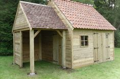 Danish House, Firewood Shed, Pump House, Outdoor Storage, Vegetable Garden, Tiny House, Home And Garden, Woodworking, Cottage