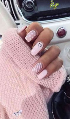 The best nail art designs for spring – Beauty The best nail art designs for spring<br> Clean Nails, Fun Nails, Pretty Nails, Best Nail Art Designs, Simple Nail Designs, Nail Swag, Spring Nails, Summer Nails, Nail Prices