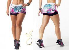 shorts saia para academia feminino