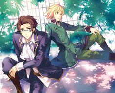 Tags: Anime, Tousaki Umiko, Axis Powers: Hetalia, Austria, Switzerland