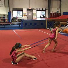 """Ally and Anna "" Gymnastics Games, Gymnastics Equipment For Home, Gymnastics Lessons, Gymnastics Academy, Preschool Gymnastics, Tumbling Gymnastics, Gymnastics Coaching, Gymnastics Workout, Acrobatic Gymnastics"