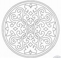 Image Result For Free Mosaic Patterns To Print Mandala Coloring PagesSimple
