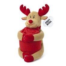 Promotional Reindeer with blanket