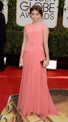 Golden Globe Awards 2014 - Sarah Hyland in Gerges Hobeika Couture
