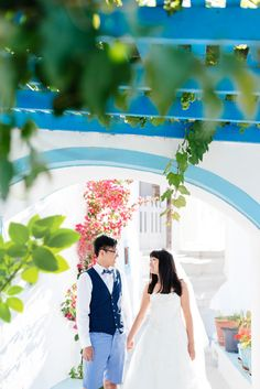 From Hong Kong to Santorini – Honeymoon » Wedding, Baptism and Newborn Photographer
