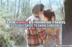 A Little Jealousy In A Relationship Is Healthy!