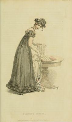 Mourning, 1820 Ackermann