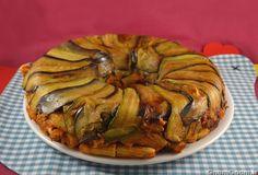 • Timballo in crosta di zucchine e melanzane - Ricetta Timballo in crosta di zucchine e melanzane