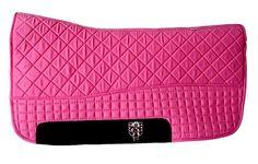 Magenta Hot Pink Western Saddle Pad | PRI Double-Back Saddle Blankets - Bon-Vivant Unique Equestrian Supply & Accessories