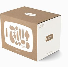 Green Chef sends you fresh, organic, sustainable ingredients and delicious recipes to help you cook incredible meals at home. Vegetable Packaging, Food Box Packaging, Kraft Packaging, Food Packaging Design, Coffee Packaging, Packaging Design Inspiration, Branding Design, Chocolate Packaging, Bottle Packaging