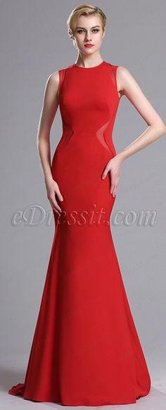 Elegant Mermaid Prom Evening Dress
