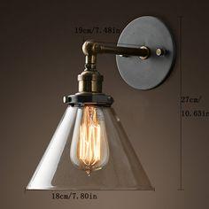 Loft Retro Edison Wall Lamp Applique Murale Vintage House Lighting Fixtures Luminaire Mural Lamparas De Pared Dormitorios 03