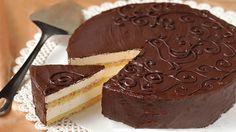 Luxusní krémový čokoládový dort připravený během 30 minut! | Milujeme recepty
