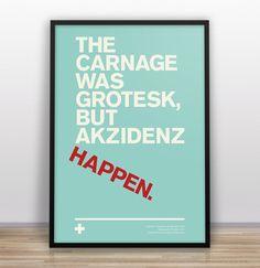 Gary Nicholson MISTD // Graphic Design | Typographic Jokes