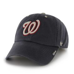 ccf9d98a633f2 Washington Nationals Ice Navy 47 Brand Adjustable Hat - Detroit Game Gear