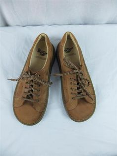 Dr Martens Airwair Suede Trainer Oxford Shoes Tan Size 6 US 5 UK 38 Cushion Sole | eBay $39.95