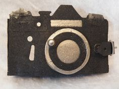 Tim Holtz vintage camera die mini album