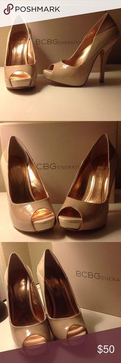 🤑BCBG HEELS PRE ❤️ Heels🤑 BG-Liberty Open toe Heels BCBGeneration Shoes Heels