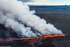 Volcanic eruption in Holuhraun - Iceland by Sparkle Motion, via Flickr