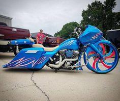 Custom Street Glide, Custom Street Bikes, Custom Bikes, Bagger Motorcycle, Motorcycle Types, Harley Davidson Touring, Harley Davidson Bikes, Custom Baggers, Custom Motorcycles