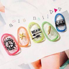アレンジ豊富!「囲みネイル」でおしゃれな指先を作ろう! - Yahoo! BEAUTY Yahoo Beauty, White Out Tape, Nails, Finger Nails, Ongles, Nail, Nail Manicure