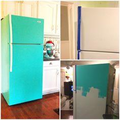 12simple ways toturn aplain fridge into acool kitchen decoration