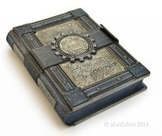 Tutorial for a creepy looking spell book. I think it would make an ...