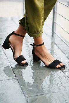 0a20f617a Marigold Block Heel. Black Block Heel SandalsBlock SandalsBlock ShoesAnkle  ...