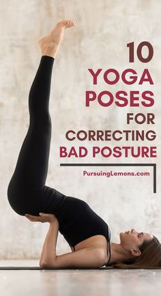 benefits of pilates Practicing these yoga poses for correcting bad posture to strengthen your core and back muscles. This will help you improve your posture and stand taller. Yoga Fitness, Physical Fitness, Fitness Exercises, Fitness Men, Fitness Style, Yoga Workouts, Fitness Logo, Beginner Yoga Workout, Face Exercises
